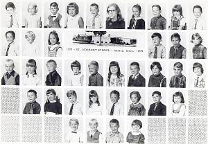 Class Picture 1971 1st Grade