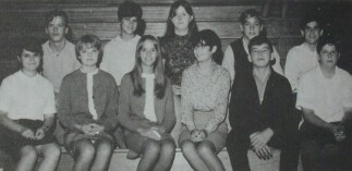 Class of 1970 Sophomores in 1969